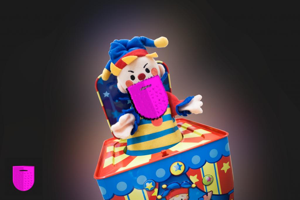 Bildnachweis: Jack in the Box by gadgetdude CC-BY 2.0, bearbeitet von Lukas Klette.
