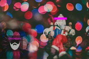 Bildnachweis: A figure of Christmas by Caleb Woods Unsplash.com License und Fireworks by Shireah Ragnar Unsplash.com License, montiert und bearbeitet von Lukas Klette.